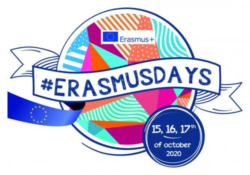 ERASMUSDAYS LOGO 2020 CMYK blue